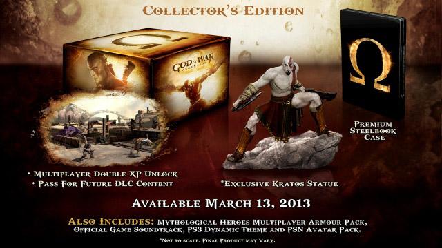 Αυτή είναι η συλλεκτική έκδοση του God of War: Ascension