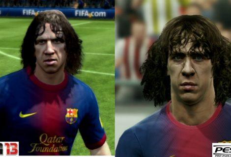 PES εναντίον FIFA: Ποιο έχει τα ρεαλιστικότερα πρόσωπα;