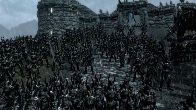 Η μάχη στο Skyrim που θα ζήλευε και το Lord of the Rings!