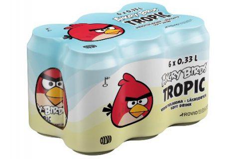 Angry Birds: Τώρα και σε αναψυκτικό!