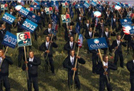 Πόλεμος υποστηρικτών Ομπάμα και Ρόμνι (στο Total War)