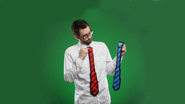 Ιδού η γραβάτα που θα πάρεις για δώρο στον μπαμπά σου!
