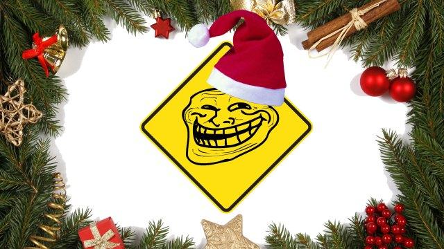 Χριστουγεννιάτικη κάρτα αξίας 4.699,01€ για τρολ!