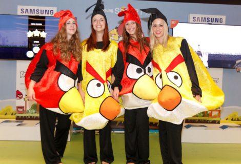 Στον τελικό του Πανελλήνιου Πρωταθλήματος Angry Birds