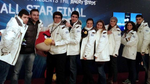 Δεύτερη η ελληνική ομάδα στο Πανευρωπαϊκό του Angry Birds!