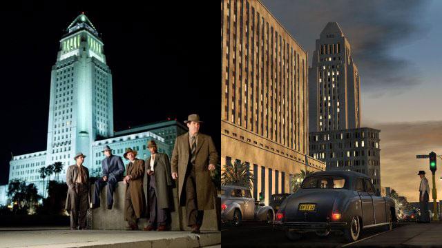 Το Λος Άντζελες της δεκαετίας του '50 έχει αποδοθεί μοναδικά και στις δύο περιπτώσεις. Δεν φαντάζεσαι, ειδικά στην περίπτωση του LA Noire για πόση δουλειά μιλάμε...