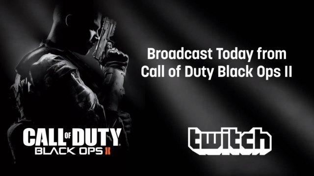 Το Black Ops II εκπέμπει μέσω TwitchTV