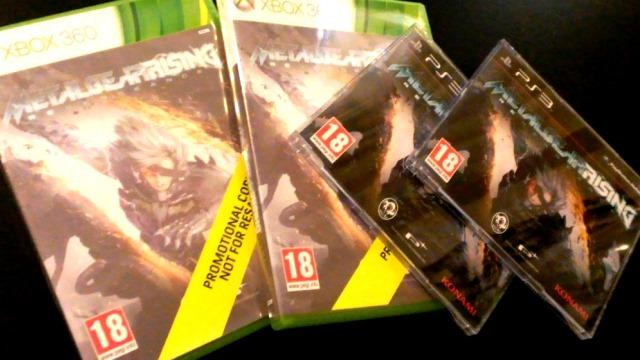 Οι τυχεροί του διαγωνισμού Metal Gear Rising: Revengeance