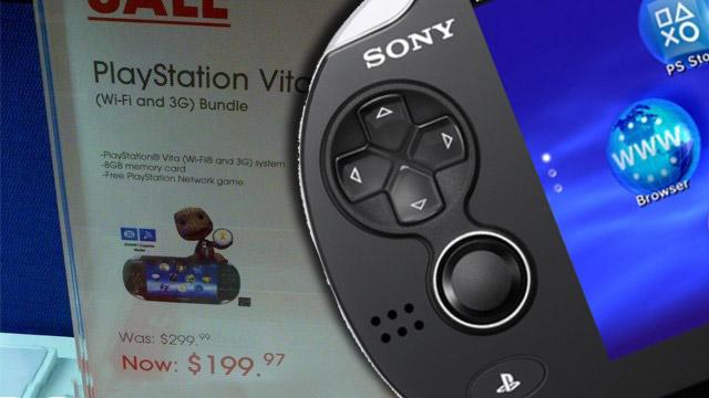 Πέφτει και εδώ η τιμή του PS Vita;