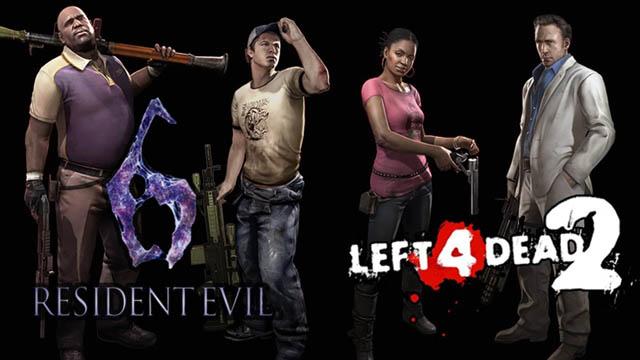 Όταν το Resident Evil 6 συνάντησε το Left 4 Dead 2!
