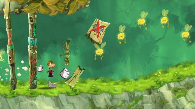 20 νέα επίπεδα στο Rayman Jungle Run!
