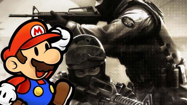 Το Counter-Strike παίζει Super Mario!