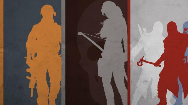 Μια συλλογή από μινιμαλιστικές gaming αφίσες!