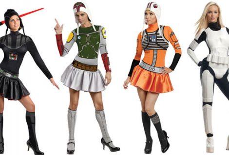 Στολές με θέμα Star Wars για κοπέλες!
