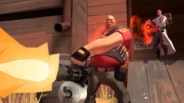 Παίξε Team Fortress 2… τρέχοντας!