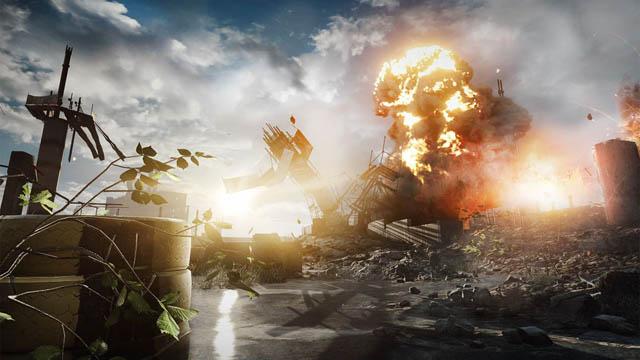 Νέες φωτογραφίες από το Battlefield 4