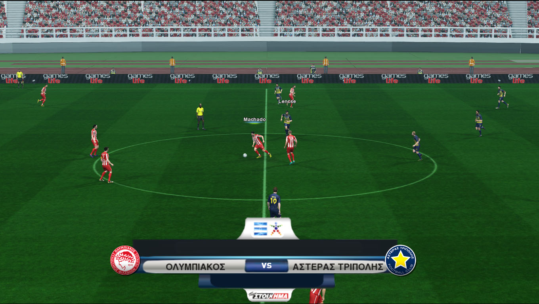 Ολόκληρο το ελληνικό ποδόσφαιρο στο PES 2013 και το PC σου!