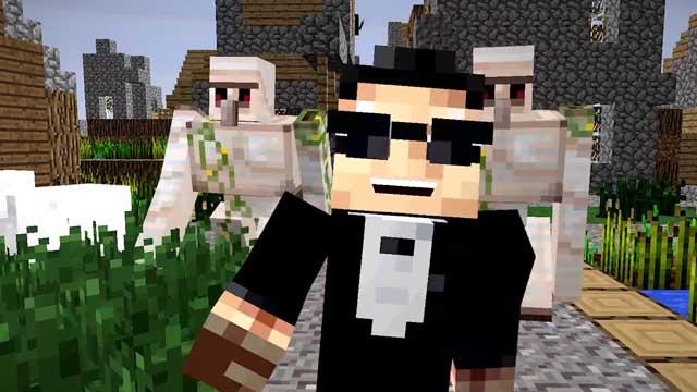 Η νέα επιτυχία του PSY στο… Minecraft!