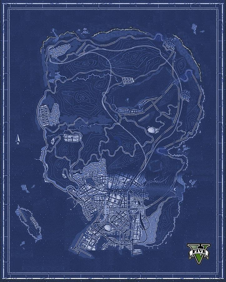 grand-theft-auto-V-map