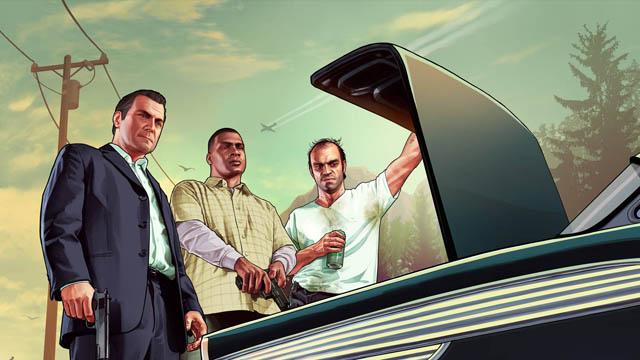 Ο χάρτης του Grand Theft Auto V