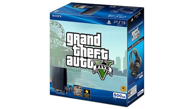 Το PS3 έρχεται «πακέτο» με το Grand Theft Auto V