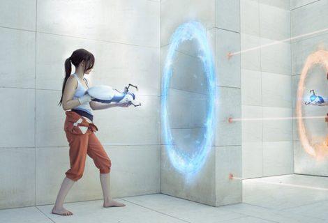 Η Άλμπα «ντύνεται»... Portal 2!