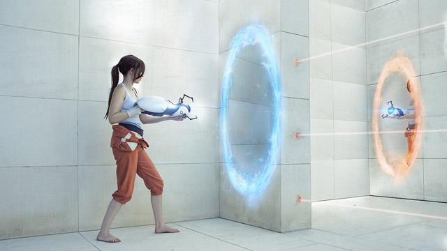 Η Άλμπα «ντύνεται»… Portal 2!