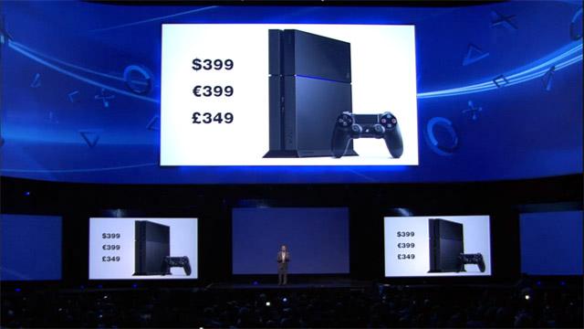 Με τέσσερα κατοστάρικα παίρνεις το PS4 με το χειριστήριό του -και ποιος ξέρει τι άλλο. Καλή τιμή για high end κονσόλα του κουτιού, έτσι; Α, και ένα κατοστάρικο πιο κάτω απ' αυτή του Xbox One. Μην ξεχνιόμαστε...