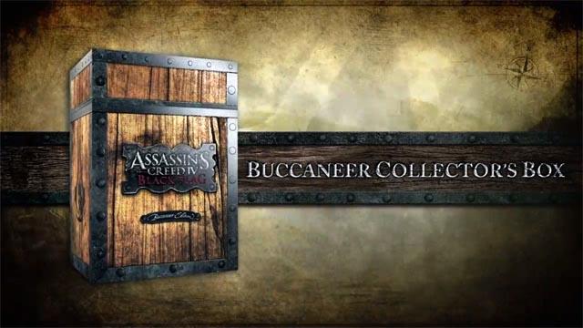 Ξεπακετάρισμα της Buccaneer έκδοσης του Assassin's Creed IV
