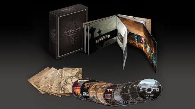 Όλη η σειρά The Elder Scrolls σε μια συλλογή!