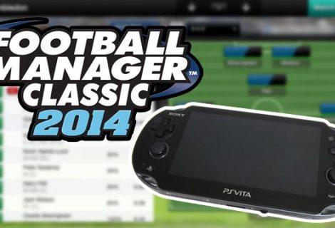 Το Football Manager 2014 έρχεται για πρώτη φορά στο PS Vita