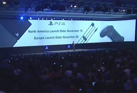 Στις 29 Νοεμβρίου η κυκλοφορία του PS4