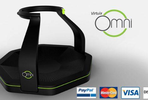 Το Virtuix Omni διαθέσιμο για προπαραγγελία!