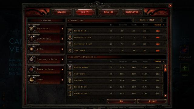 Η Blizzard καταργεί τα Auction Houses του Diablo III