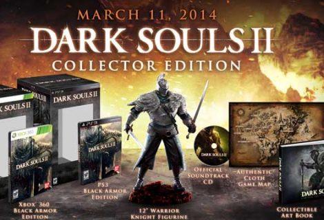 Ημερομηνία κυκλοφορίας και συλλεκτικές εκδόσεις του Dark Souls II