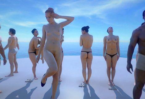 Γυμνά μοντέλα και απίστευτος ρεαλισμός με τη βοήθεια της εικονικής πραγματικότητας