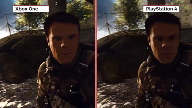 Σύγκριση του Battlefield 4 σε PS4, Xbox One και PC