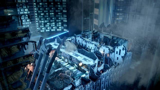 Gameplay από τον ουρανοξύστη που πέφτει στο Call of Duty: Ghosts