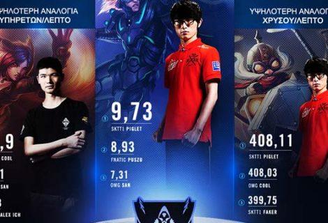 Ελληνικό infographic για το παγκόσμιο πρωτάθλημα League of Legends