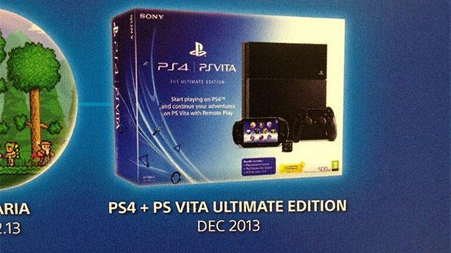Επιβεβαιώνεται το πακέτο PS4 και PS Vita