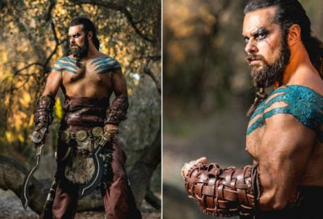 Καλλιτέχνης του Warcraft «ντύνεται» Khal Drogo από το Game of Thrones