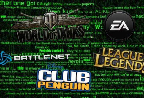 Θύματα χάκερς οι servers των League of Legends, Dota 2 και World of Tanks!