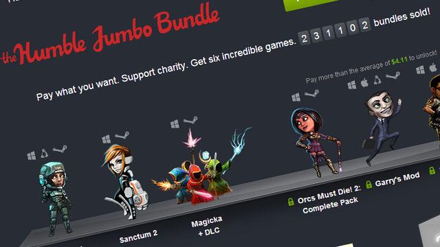 Πάμε Jumbo τώρα! Στο Humble Bundle.