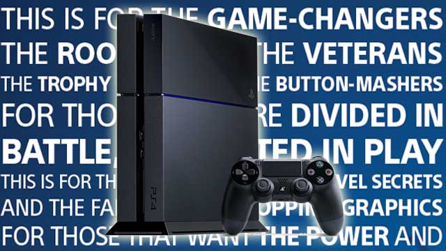 Το ελληνικό τηλεοπτικό σποτ του PS4 «ήρθε για τους παίκτες»!
