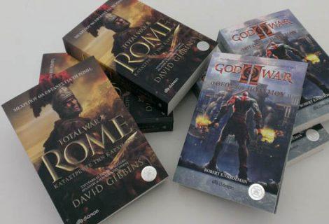 Οι τυχεροί του διαγωνισμού βιβλίων Total War Rome & God of War II