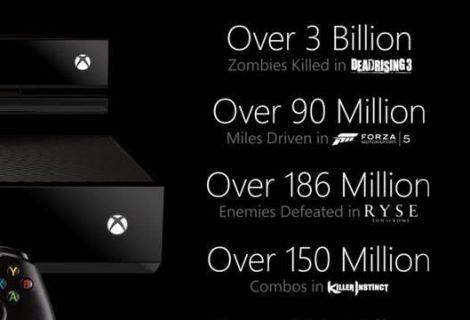 Η απάντηση της Microsoft στις πωλήσεις του PS4 [infographic]