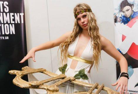 Τίγκα στο cosplay το Digital Christmas στη Helexpo
