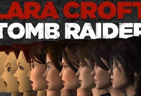 Όλα τα μοντέλα της Lara Croft από το 1996 [Infographic]