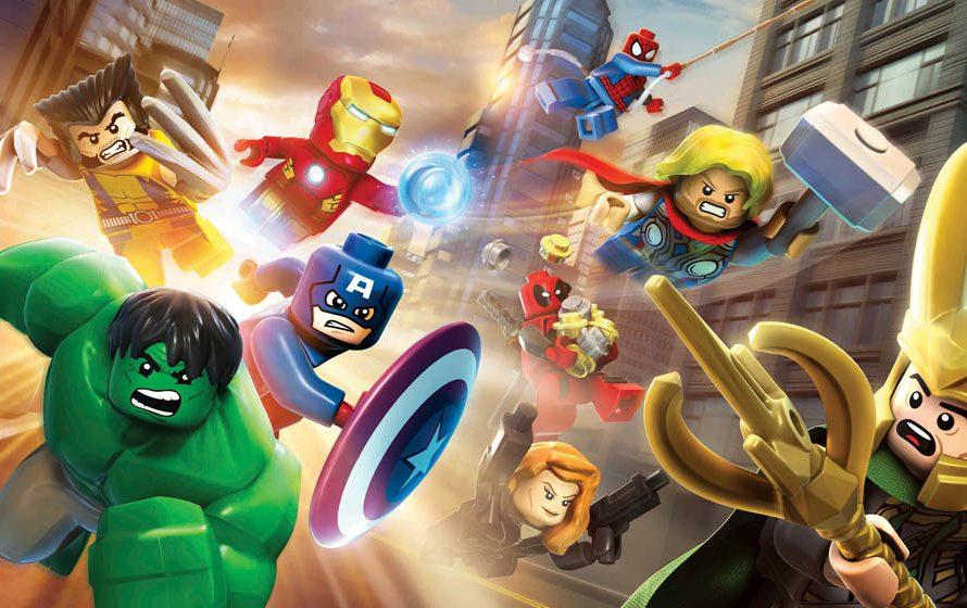 LEGO Marvel Super Heroes [next-gen update]