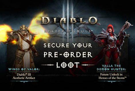Τα δώρα προπαραγγελίας του Diablo III: Reaper of Souls